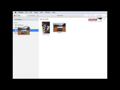 Copy photos to a Thumb Drive with Photos App on Mac 2016 / 2015