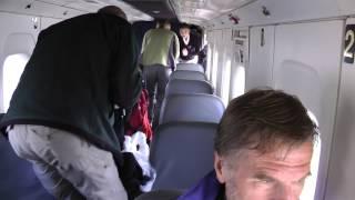 Flygplanet inifrån