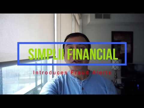 Simplii Financial Offers Free Fraud Alerts for Its Bank Cardholders | Financial Author Ahmed Dawn