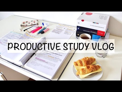 PRODUCTIVE STUDY DAY - LECTURES & CATCHING UP | Study Vlog 11