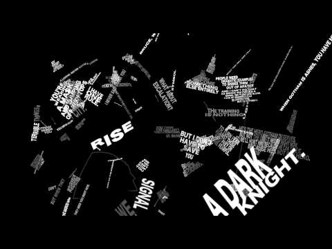 The Dark Knight Rises quotes - Motion Poster