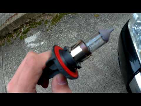 How to Remove Replace Headlight bulb Mercury Mariner 05-07