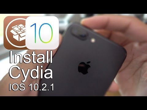 how to install cydia on ios 10.2.1 without a computer [2017]