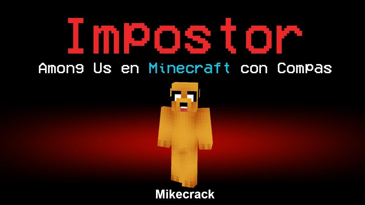AMONG US pero en Minecraft 😱 [Me toca IMPOSTOR]