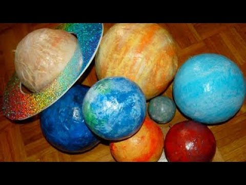 How To Create a Paper Mache Solar System - DIY Crafts Tutorial - Guidecentral