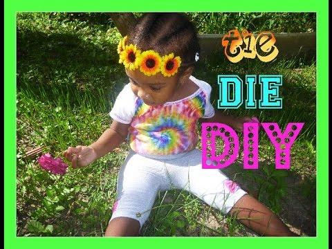 Sharpie Tie-Dye DIY Onesies !!!
