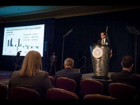 Dr. Robert Johansson addresses the AG Outlook Forum 2018