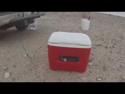 Stereo Cooler (solar powered)