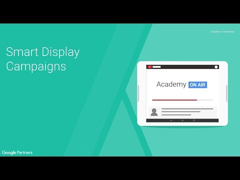 Academy on Air: Smart Display Campaigns (26.04.18)