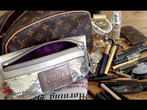 Whats in my Makeup Bag?! (Coach)