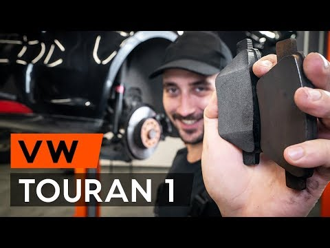 How to replace rear brake pads onVW TOURAN 1 (1T3)[TUTORIAL AUTODOC]