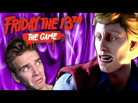 CASPAR IS IN THE GAME!!? | Friday The 13th