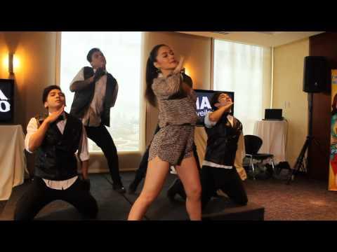 Maja Salvador performed Goin' In / On The Floor in Maja Unveils At 10 presscon