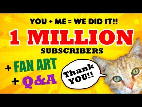 Draw So Cute ONE MILLION Subscribers + Fan Art + Q&A