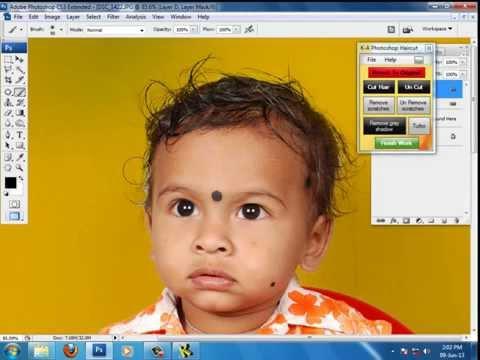 KA Photoshop Haircut Demo 1