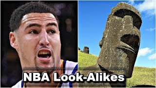 NBA Players & Their Celebrity Look Alikes | REACTION