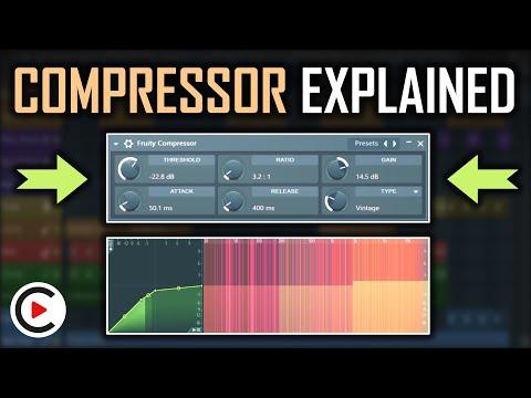 FL STUDIO COMPRESSION TUTORIAL   How to Use Compressor FL Studio Tutorial How to Compress FL Studio