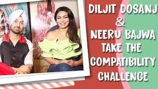 Diljit Dosanjh And Neeru Bajwa Take The POP Diaries Compatibility Challenge | Exclusive Interview