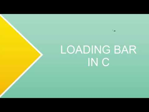 LOADING BAR || C PROG || DEV C++