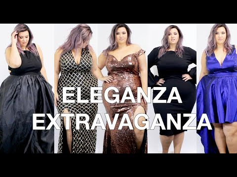 PLUS SIZE FASHION TRY ON HAUL | FORMAL DRESSES TO DIE FOR | Sometimes Glam