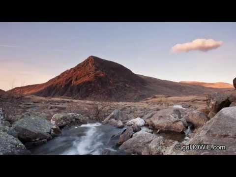 Dusk over Pen Yr Olwen, Snowdonia