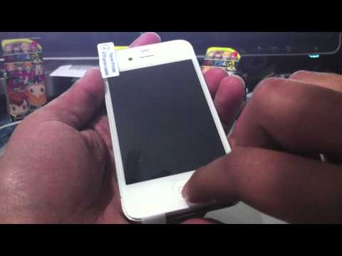 How to apply a Screen Protector on Iphone (Very Easy) Tutorial trick works with other devices