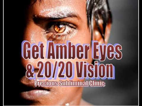 Get Amber Eyes II Change your eye color to a perfect Amber  - 1st formula - INSTANT RESULTS