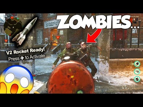NUKING ZOMBIES IN MULTIPLAYER...(WHAT?!) - COD WW2