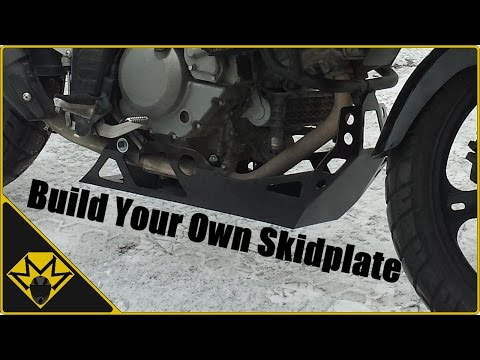 DIY Custom Skid Plate