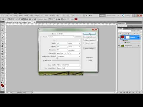 Images with Rounded Corners in Photoshop CS5