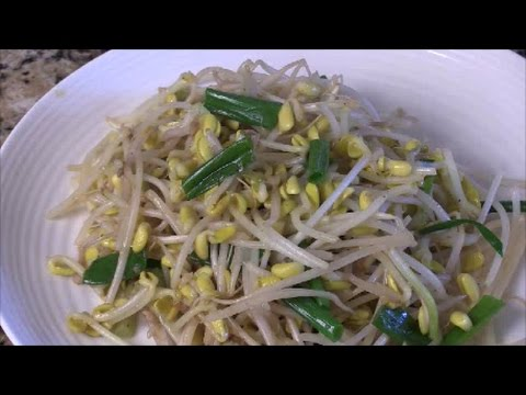 Sauteed Chinese Mung Bean Sprouts...