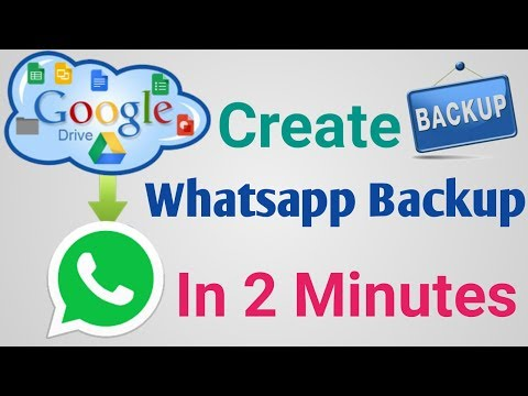 How to backup Whatsapp messages on android upload to google drive In Hindi