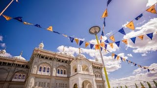 Nagar Kirtan At Guru Nanak Darbar Gurdwara Gravesend,  , Vaisakhi  2017  In 4k