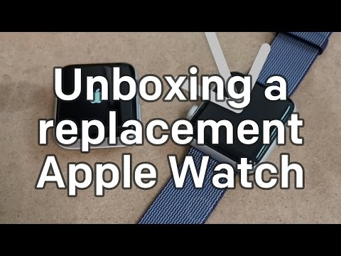 Unboxing a Warranty Replacement Apple Watch with the Clips App!