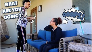 SMOKING PRANK ON MY GIRLFRIEND 🚭😲  Crissy Danielle