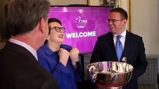 Mandula Petra a budapesti Fed-kupa döntő nagykövete