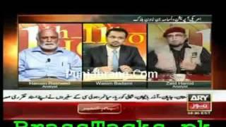 Zaid Hamid Sb on Osama bin Laden Issue in program 11th hour with Waseem Badami