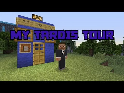 Minecraft My TARDIS Tour