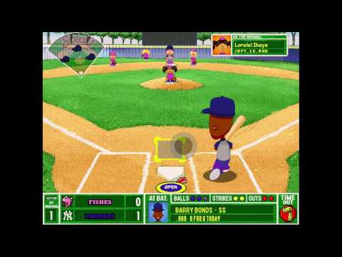 backyard baseball 2003 gameplay