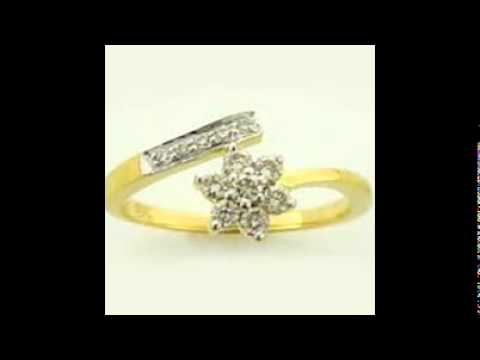 Gold With Diamond Rings
