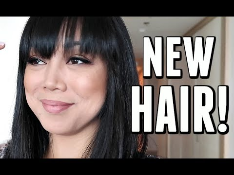 I FINALLY CUT MY HAIR! - September 28, 2017 -  ItsJudysLife Vlogs
