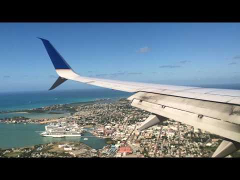 Landing in Antigua
