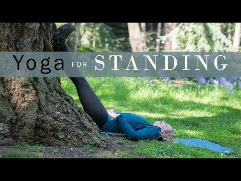 3 Yoga Poses for People Who Stand All Day