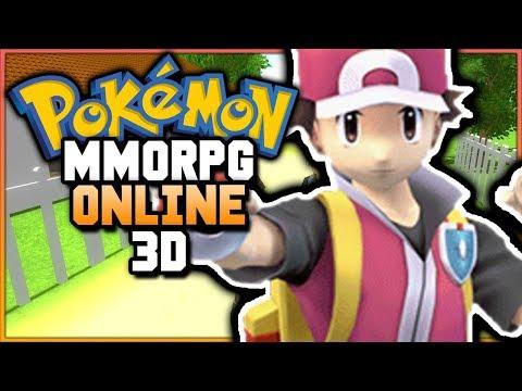 AN ONLINE OPEN WORLD POKEMON GAME?! Pokemon MMORPG 3D (BEST ONLINE POKEMON GAME EVER)