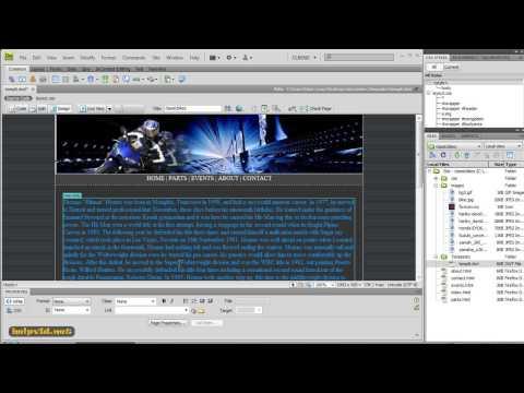 Dreamweaver Tutorial 7 {Adding our Meta Keywords}