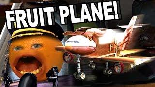 Annoying Orange Hfa - Fruit Plane!