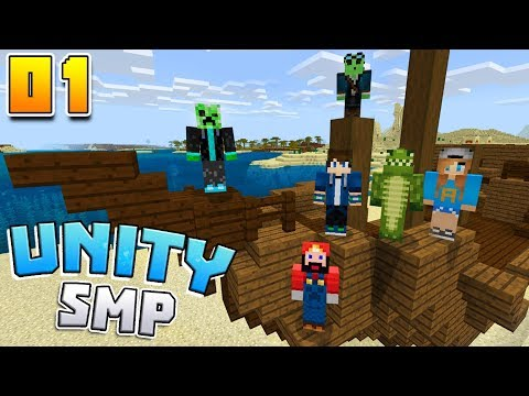 STARTING FRESH! Unity SMP EP1 Minecraft Survival Let's Play!