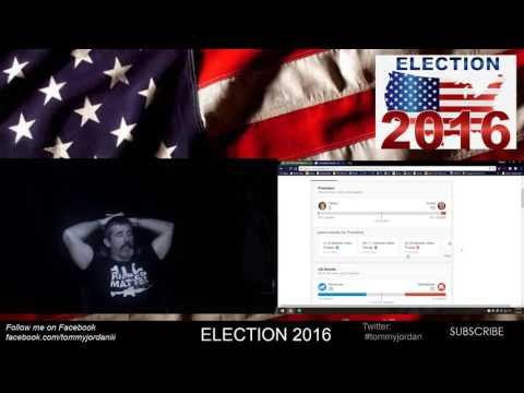 Tommy Jordan Live Stream: Election 2016