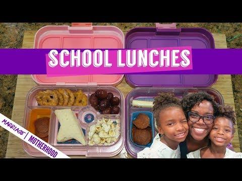 Kids pack their own school lunches | Bento School Lunch Ideas | LAST WEEK OF SCHOOL