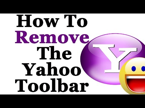 How To Completely Remove The Yahoo Toolbar From Windows 7 & 8